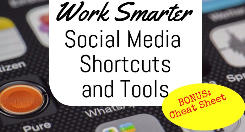 social media shortcuts and tools