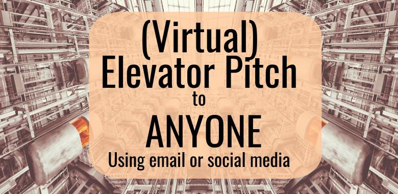 virtual elevator pitch