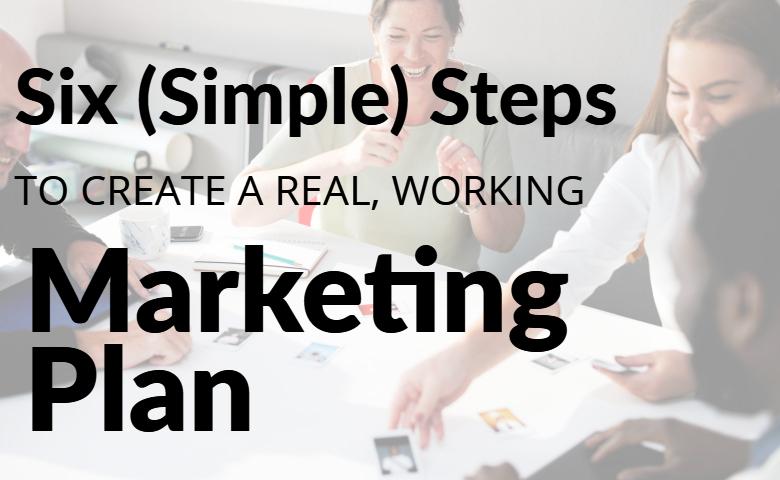 six steps marketing plan